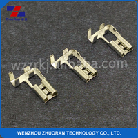 4.8*0.5mm brass wire terminal connector, receptacle terminal, appliance terminal connector auto connectors