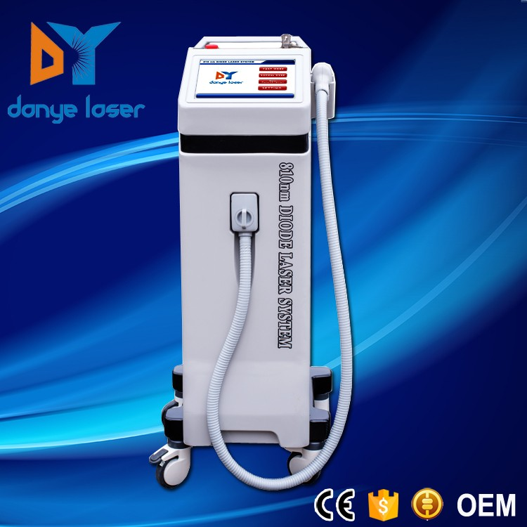 Factory price beauty salon equipment 808nm diode laser hair removal