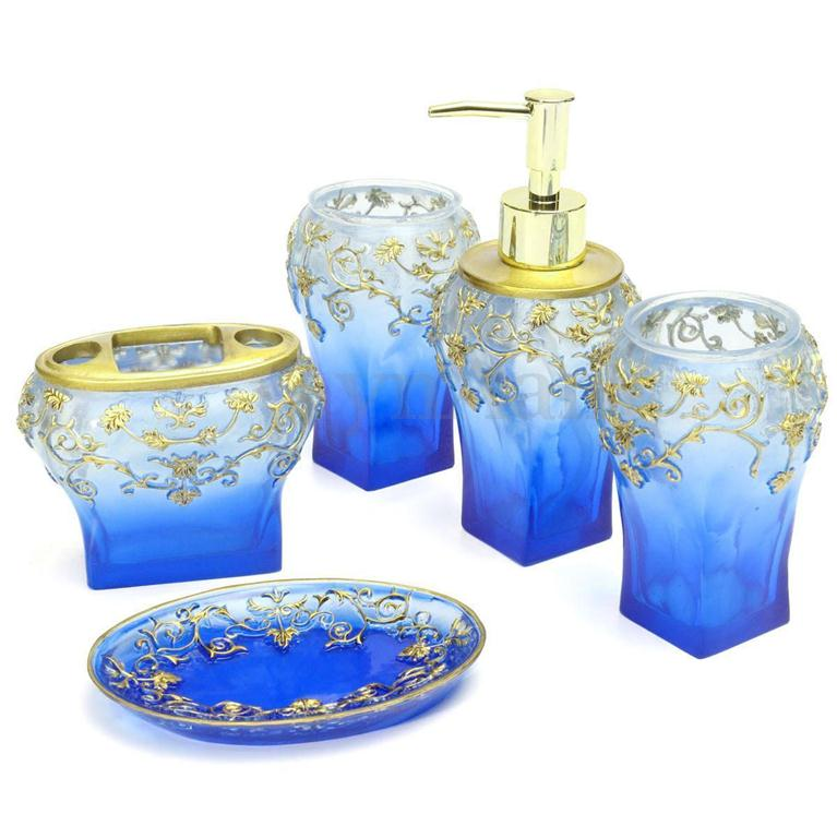 Elegant bathroom Accessories set Toothbrush soap Holder