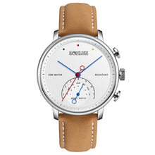 2018 Business Luxury Elegant Sport <strong>Watch</strong> Genuine Leather Strap <strong>Smart</strong> <strong>Watch</strong>