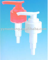 plastic lotion pump shampoo push type dispenser