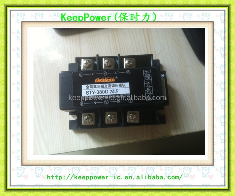 New and original & Hot Three-phase solid state relay shift trigger (All New) SSR-3JKE / TB-3 (F / G / H)