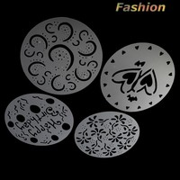 HP004 Fashion Environmental protection spray plastic cake stencil decoration