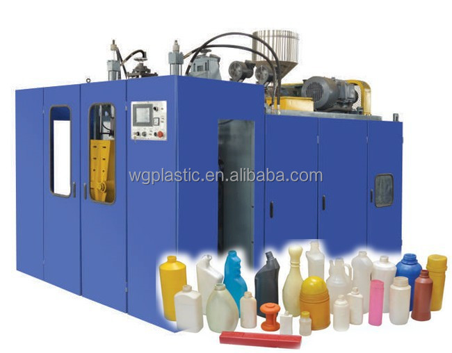 extrusion and blow molding machine for cat parts and special equipment