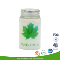 New products luxury design custom plastic lotion glass bottle packaging