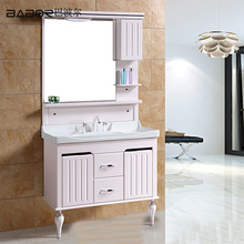 Cheap Single PVC Bathroom Cabinets and Vanities