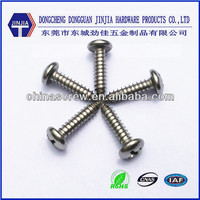 China screw manufacturer galvanized pan head self tapping screw