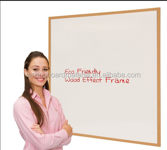 China Supplier 60x90cm Wall Mount Wood Frame Magnetic White Board ...