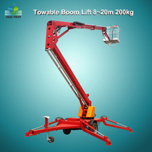 Articulated Towable Cherry Picker Spider Small Boom Lift