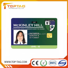 Blank contact SLE5542/4428 RFID Smart chip card full color printed rfid business card hotel key card