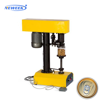 NEWEEK electric PET paper drink can seaming machine