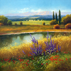 Beautiful Scenery landscape diamond embroidery DIY Crystal 5D diamond painting glue cross stitch kits