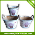 Lastest design outdoor ,window wooden flower pot