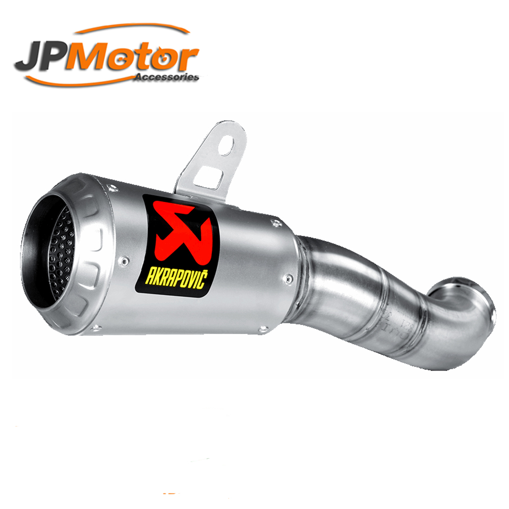 Motorcycle muffler exhaust with DB killer bike silencer moto escape cb400 cb190r cbr 150 rc390