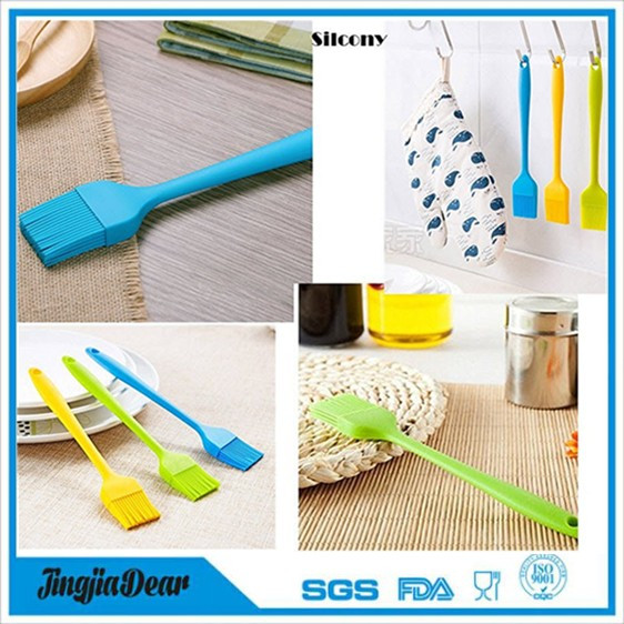 Baking accessories Silicone Kitchen butter Oil Brush