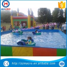 kids paddle boat used for inflatable swimming pool for sale