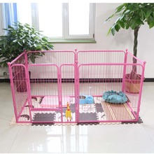 Double iron designer heavy duty dog cages crates dog kennels