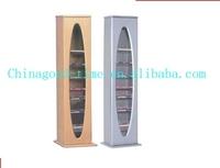wooden display shelf / CD rack /slot MDF display