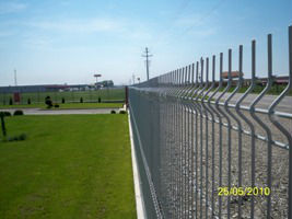 Fence panels, galvanized or powder coated