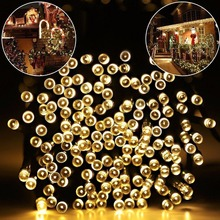Factory wholesale 200LED 22M fairy lights, christmas lights strings outdoor, decoration tree solar led christmas light