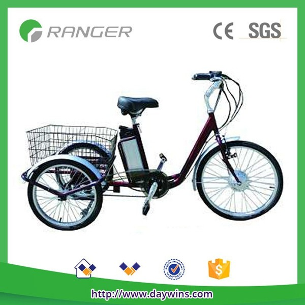 cargo electric delivery tricycle pedal assisted