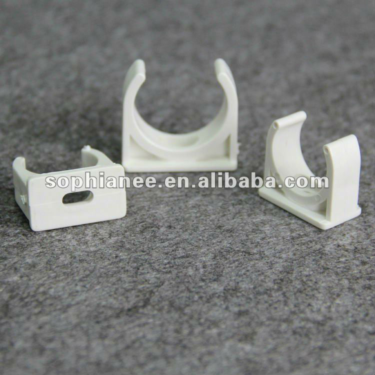 Attractive Price White Plastic Electricl PVC Pipe Clips
