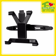 Self Adhesive Car Headrest Mount Aluminium Tablet Holder