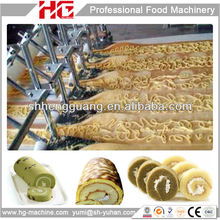 Shanghai Gas Oven Filled Layer Cake Making Machine