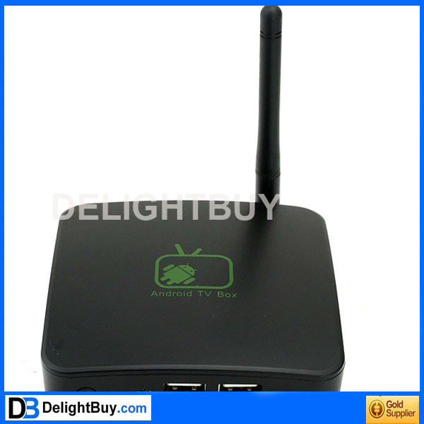 Full HD HDTV Google Android 2.3 Internet TV Box WIFI Media Player 1080P