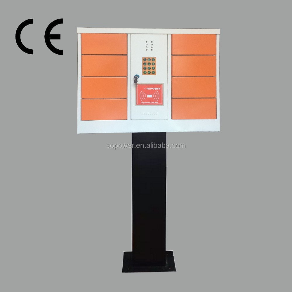 carad reader cell phone charging station hot-selling 10 doors electric lock cell phone soldering station