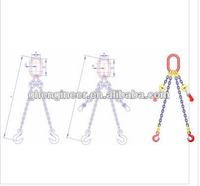 TWO LEG CHAIN SLING ASSEMBLY(GRADE T8)