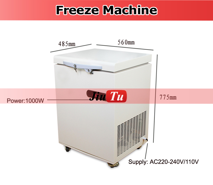 Lcd Touch Screen Glass Separating Machine Freezer Separator For Mobile Phone Repairing Machines