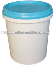 plastic pail with lid