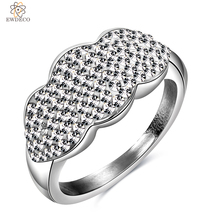 Stainless Steel Diamond Ring Jewellery Lip Ring
