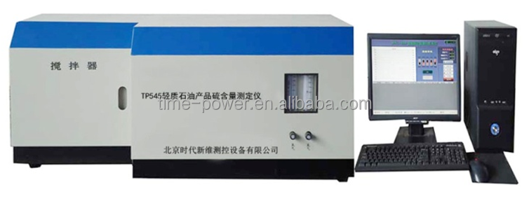 Light petroleum products coulometric sulfur and chlorine analyzer