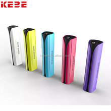 KEBE 2017 factory wholesale OEM/ODM customizable colorful charger portable power bank 4000MAh