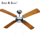 10 Years Warrantee 42 Inch Decorative Ceiling Fan with Light and Remote