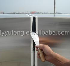 Silicone for easy installing ACP wall cladding project