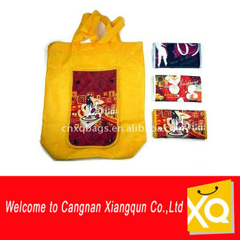 Non Woven PP Folding Bags With Pocket