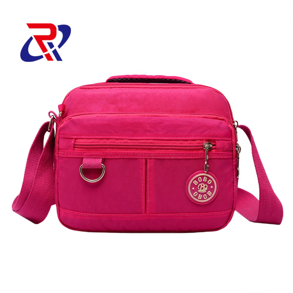 2016 New Women washed Nylon <strong>handbag</strong>/shoulder bag/message bag