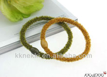 hair elastic band made of fine material with soft touch feeling