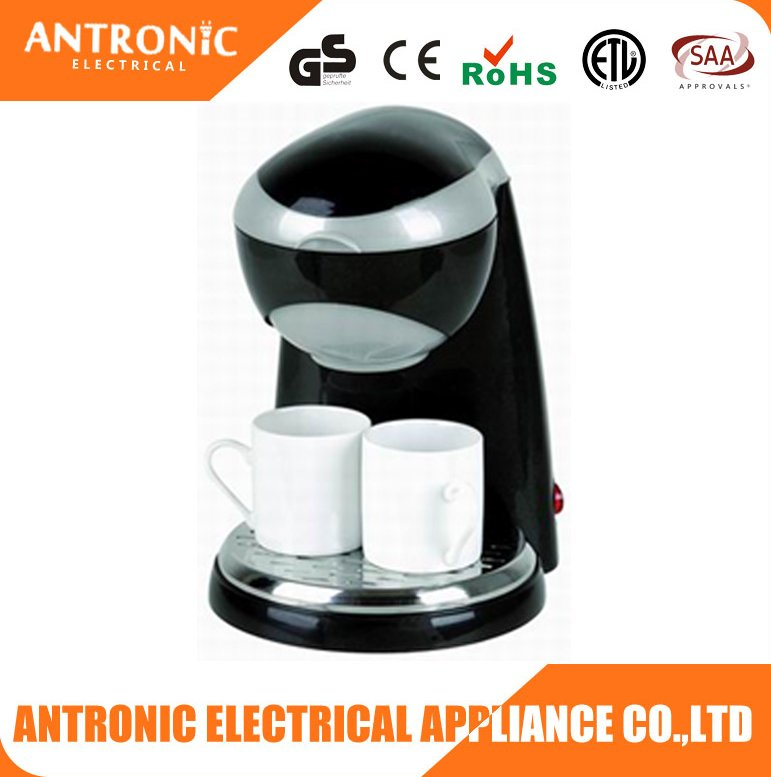 Antronic ATC-CM408 promotional cheap price office/home use 2 cups drip coffee machine
