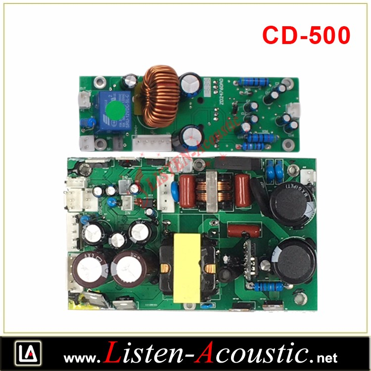 CD-500 Class D High Power Professional Power Amplifier