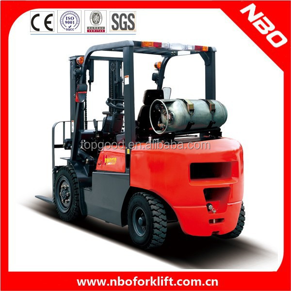NBO natural gas trucks for sale, 1.5 ton chinese lpg forklift
