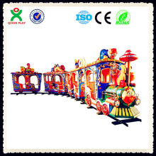 Hot sale outdoor kids electric train games set/children electric train/outdoor playground games QX-130A