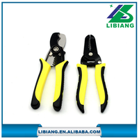 Long flat nose manual wire stripper,cutting pliers