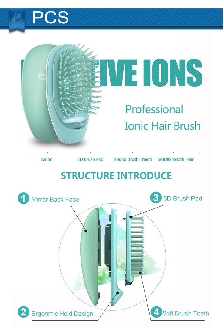 NEWEST Negative Ion Electric Comb For Hair Growth