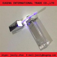 Lip gloss container with LED light