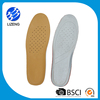 Massage natural latex footbed for shoes insole latex free sample insoles