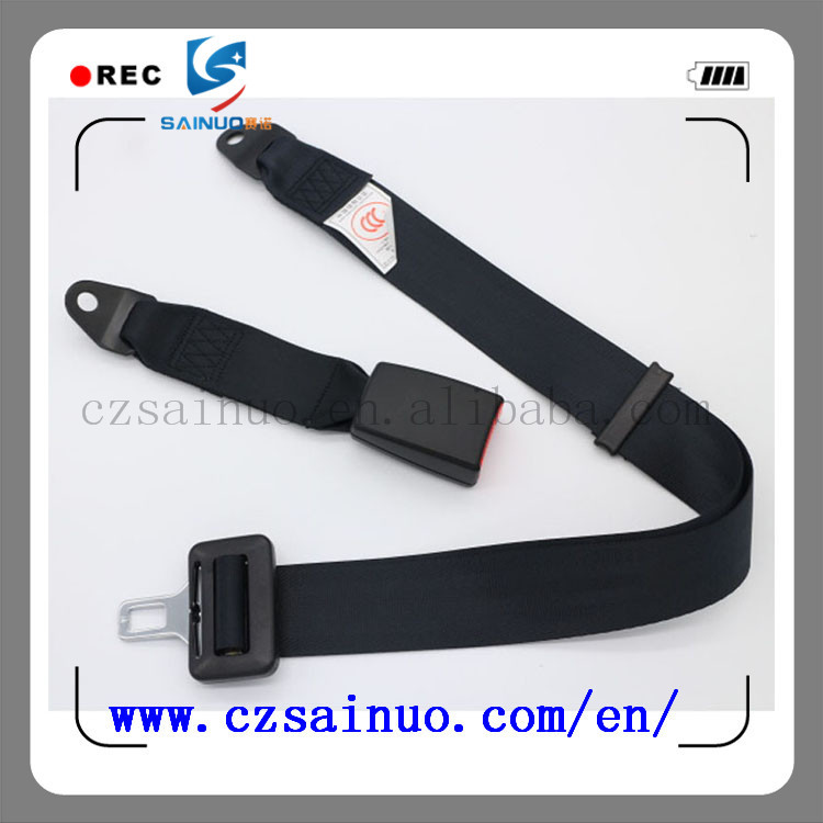 Hot selling 2 point car back row seat belt supplier